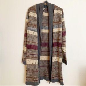LA Blend Cardigan Long Sleeve Sweater